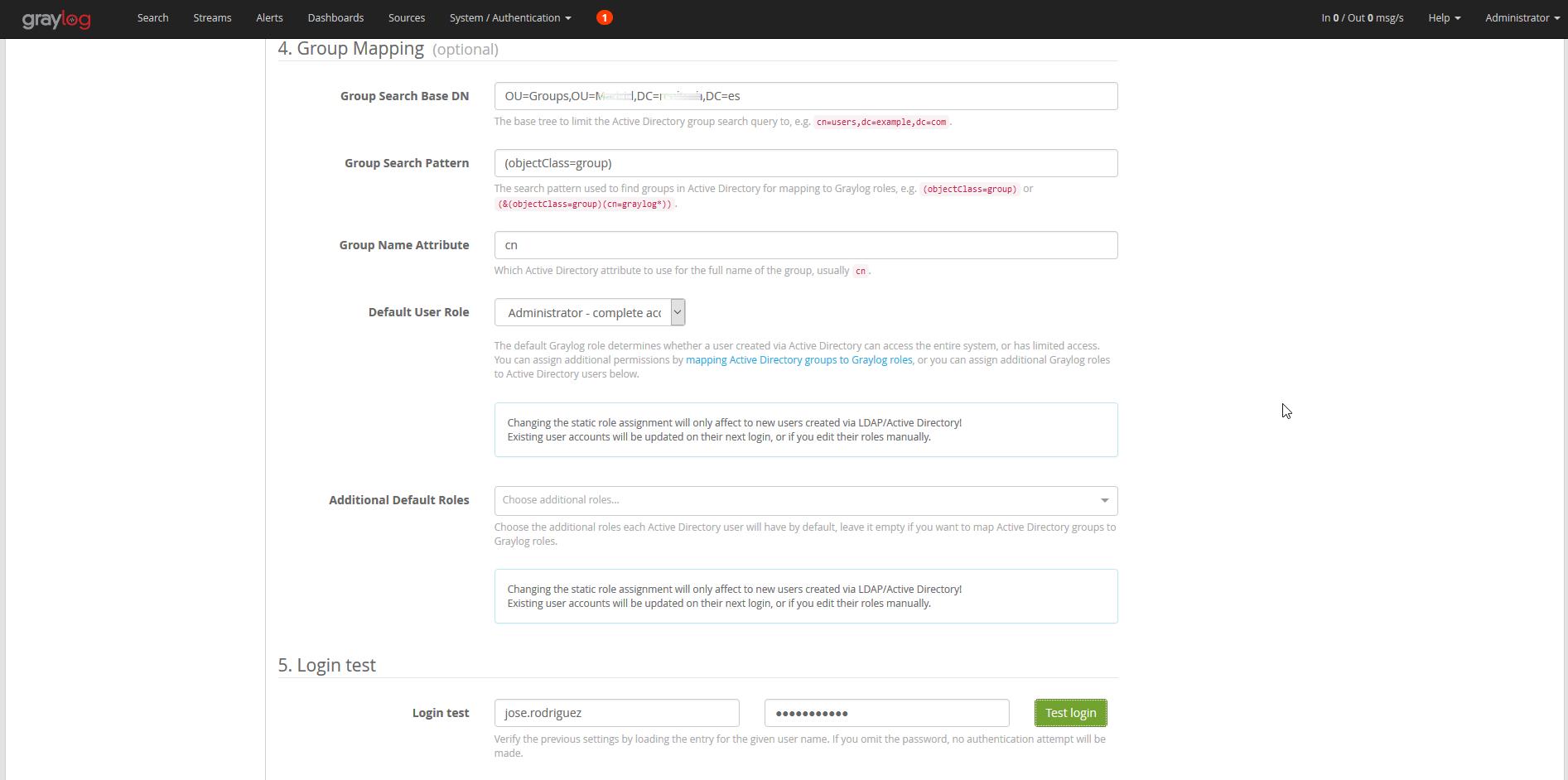 Integrar Graylog con Active Directory   Red-Orbita